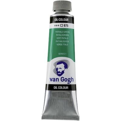 Van Gogh Oil Color Tube, 675 Phthalo Green (40ml)