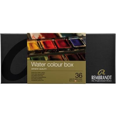 Rembrandt Prof. Watercolor Metal Tin Set, 36 Pan