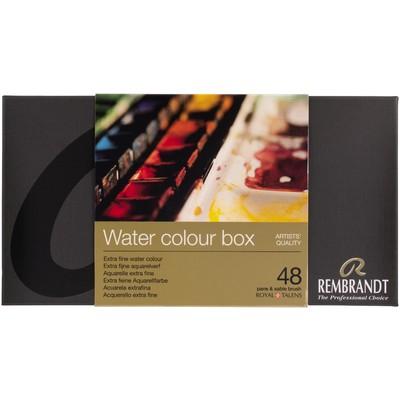 Rembrandt Prof. Watercolor Metal Tin Set, 48 Pan
