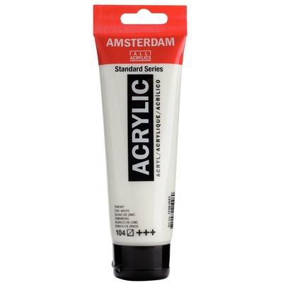 Amsterdam Standard Series Acrylic, 104 Zinc White