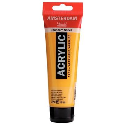 Amsterdam Standard Series Acrylic, 270 Azo Yellow Deep