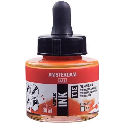 Amsterdam Acrylic Ink, Vermilion (30ml)