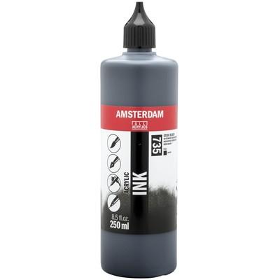 Amsterdam Acrylic Ink, Oxide Black (250ml)