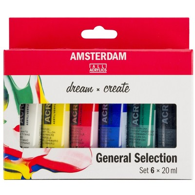 Amsterdam Standard Series Acrylic Set, General(6pk)
