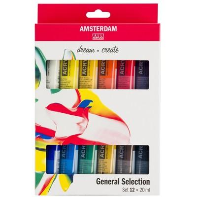 Amsterdam Standard Series Acrylic Set, General (12pk)