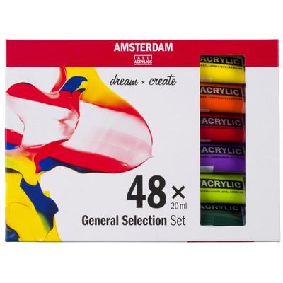 Amsterdam Standard Series Acrylic Set, General (48pk)