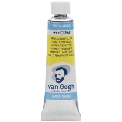 Van Gogh Watercolor Tube, Permanent Lemon Yellow