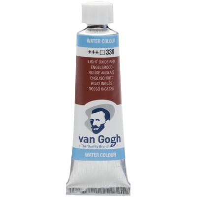 Van Gogh Watercolor Tube, Light Oxide Red