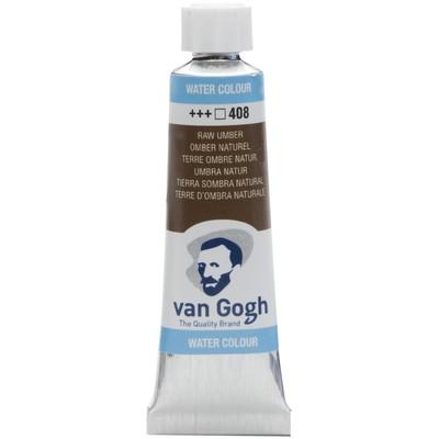 Van Gogh Watercolor Tube, Raw Umber