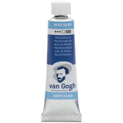 Van Gogh Watercolor Tube, Prussian Blue