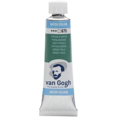 Van Gogh Watercolor Tube, Phthalo Green