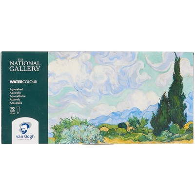 Van Gogh Watercolor Basic Set, National Gallery (10x10ml)