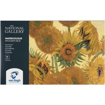 Van Gogh Watercolor Pocket Box, National Gallery (26pc)