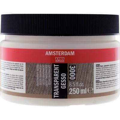 Amsterdam Gesso, Transparent (250ml)