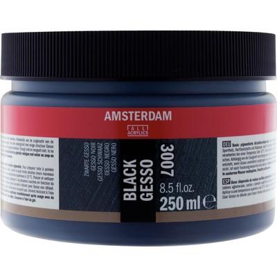 Amsterdam Gesso, Black (250ml)