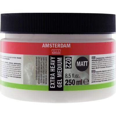 Amsterdam Extra Heavy Gel Medium, Matte (250ml)