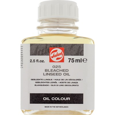 Talens Linseed Oil, Bleached (75ml)