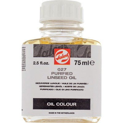 Talens Linseed Oil, Purified (75ml)