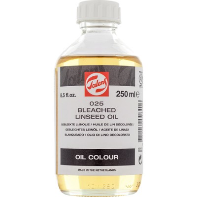 Talens Linseed Oil, Bleached (250ml)