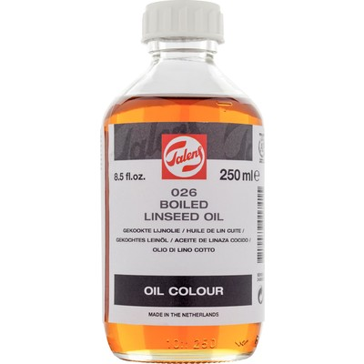 Talens Linseed Oil, Boiled (250ml)