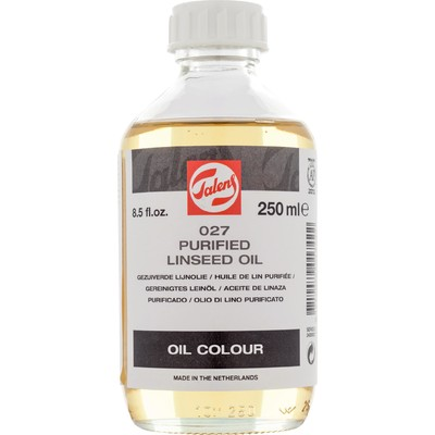 Talens Linseed Oil, Purified (250ml)