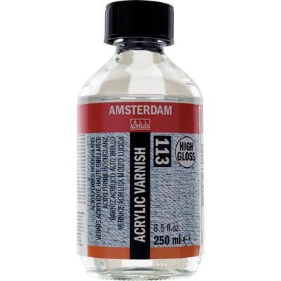 Amsterdam Acrylic Varnish, High Gloss (250ml)
