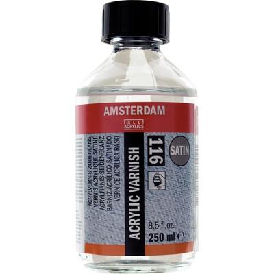 Amsterdam Acrylic Varnish, Satin (250ml)
