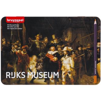 Bruynzeel Dutch Masters Color Pencils Set, Night Watch (50pc)