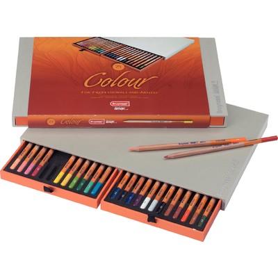 Bruynzeel Design Colored Pencil Box (24pc)