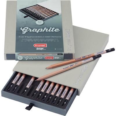 Bruynzeel Design Graphite Pencil Box (12pc)