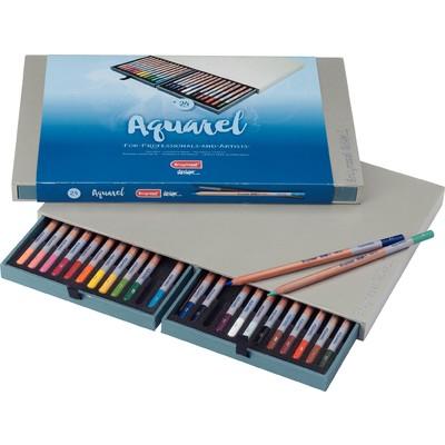 Bruynzeel Design Aquarelle Pencil Box (24pc)