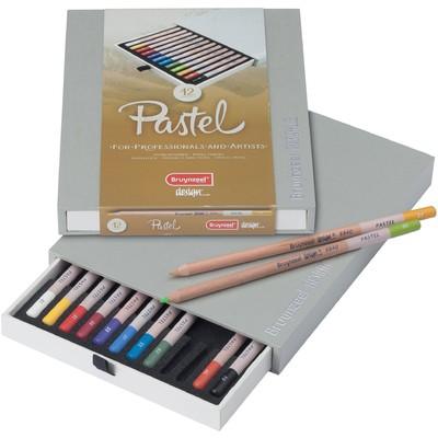 Bruynzeel Design Pastel Pencil Box (12pc)