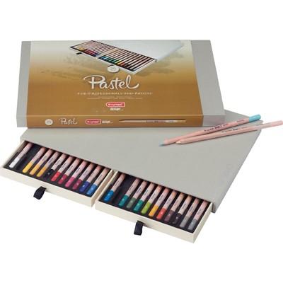 Bruynzeel Design Pastel Pencil Box (24pc)