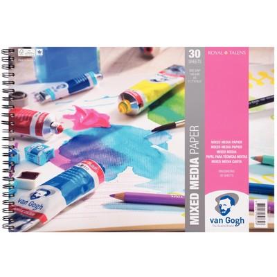 Van Gogh Mixed Media Paper Spiral Pad, A3