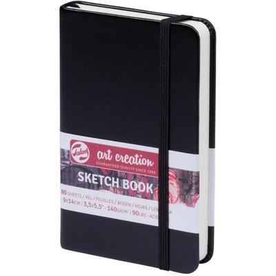 Talens Art Creation Sketchbook, Black - 9cm x 14cm