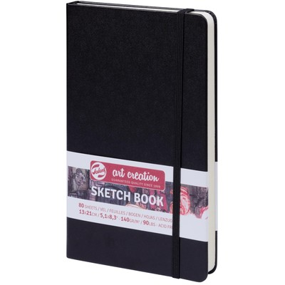 Talens Art Creation Sketchbook, Black - 13cm x 21cm
