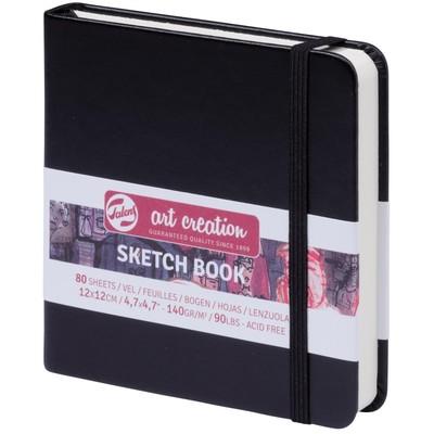 Talens Art Creation Sketchbook, Black - 12cm x 12cm