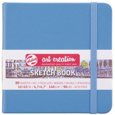 Talens Art Creation Sketchbook, Light Blue 12cm x 12cm