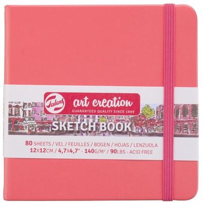 Talens Art Creation Sketchbook, Coral 12cm x 12cm
