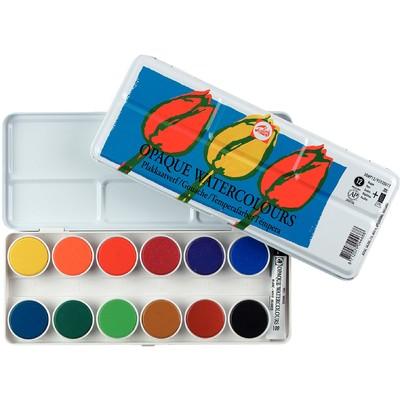 Talens Watercolors Set, Opaque (12pc)