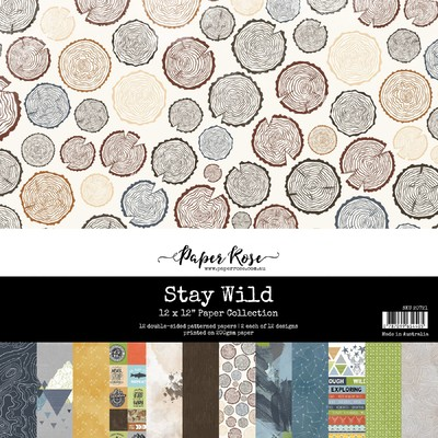 12X12 Paper Collection, Stay Wild