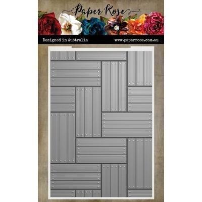 3D Embossing Folder, Wood Panels