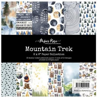 6X6 Paper Collection, Mountain Trek