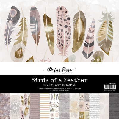 12X12 Paper Collection, Birds of a Feather
