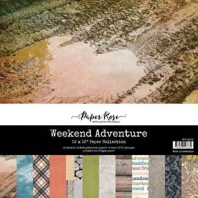 12X12 Paper Collection, Weekend Adventure