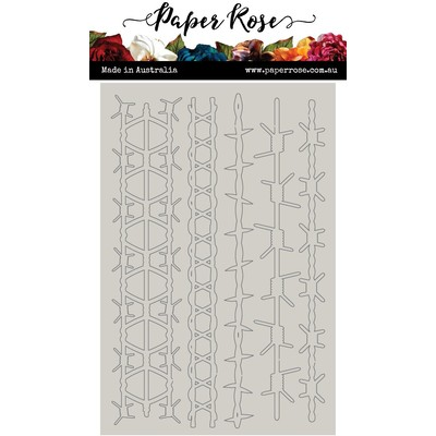 Chipboard Embellishments, Barbed Wire