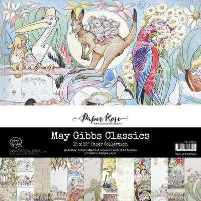 12X12 Paper Collection, May Gibbs Classics