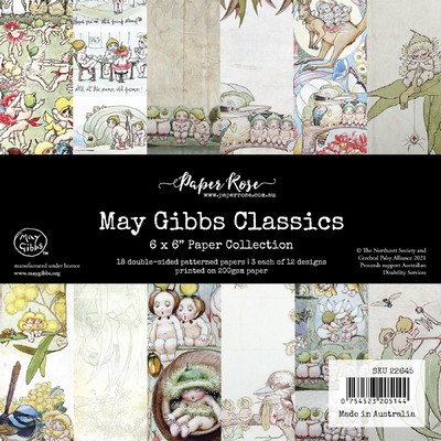 6X6 Paper Collection, May Gibbs Classics