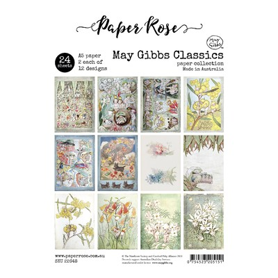A5 Paper Pack, May Gibbs Classics