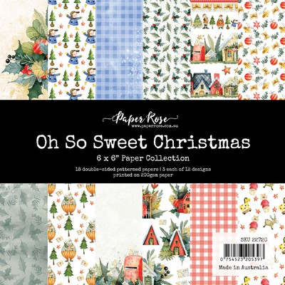6X6 Paper Collection, Oh So Sweet Christmas